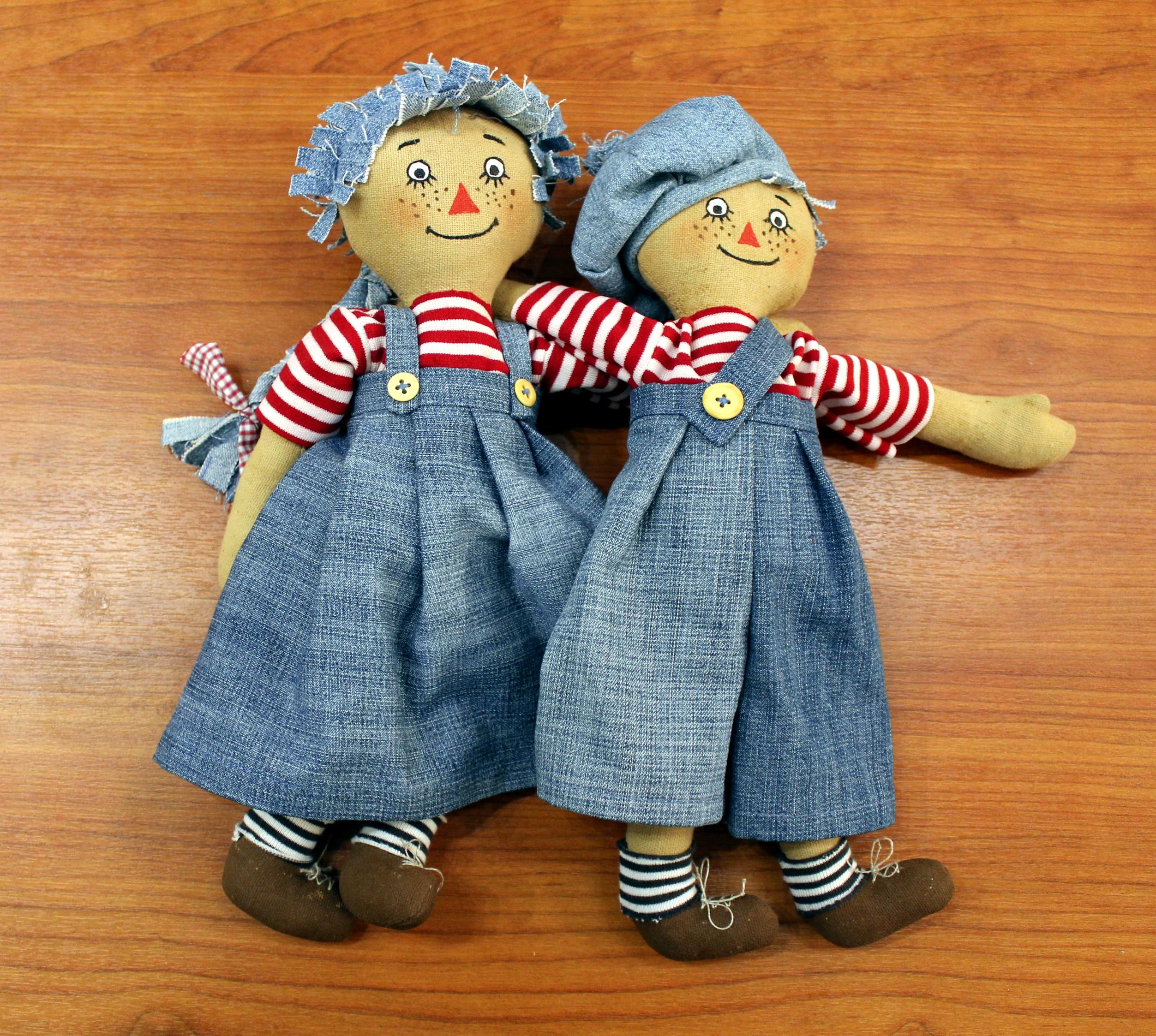 Куклы и поделки из лоскутов